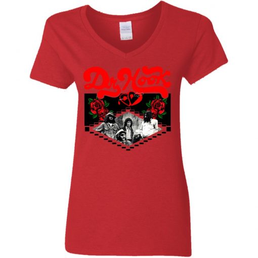 Private: Dr Hook Women's V-Neck T-Shirt