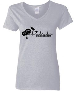 Private: Phlebotomist Women's V-Neck T-Shirt
