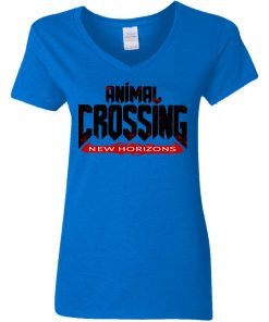 Private: Doom Eternal Animal Crossing New Horizons Women's V-Neck T-Shirt
