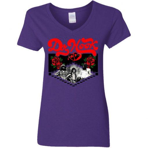 Private: Dr Hook Women's V-Neck T-Shirt
