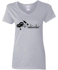 Private: Phlebotomist Women's V-Neck T-Shirt