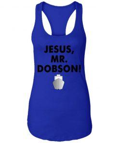 Private: Jesus, Mr. Dobson Racerback Tank