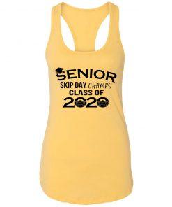 Private: Senior Skip Day Champs Class of 2020 Racerback Tank