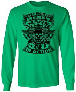 Private: Step Right Up and Witness The Amazing Electrician in Action LS T-Shirt