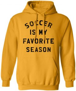 Private: Soccer Is My Favorite Season Hoodie