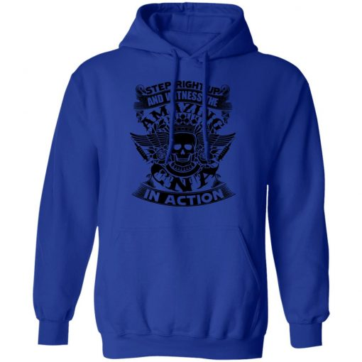 Private: Step Right Up and Witness The Amazing Electrician in Action Hoodie