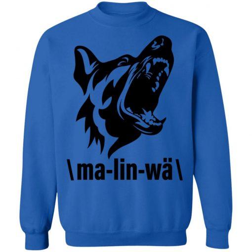 Private: Ma-lin-wa Belgian Malinois Sweatshirt