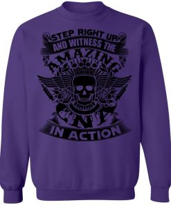 Private: Step Right Up and Witness The Amazing Electrician in Action Sweatshirt