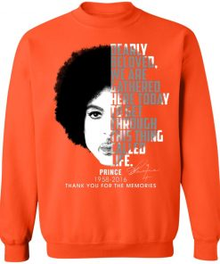 Private: Prince 1958-2016 Thank You For The Memories Sweatshirt