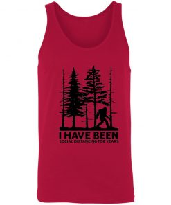 Private: I've Been Social Distancing for Years Unisex Tank