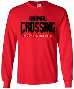 Private: Doom Eternal Animal Crossing New Horizons Youth LS T-Shirt