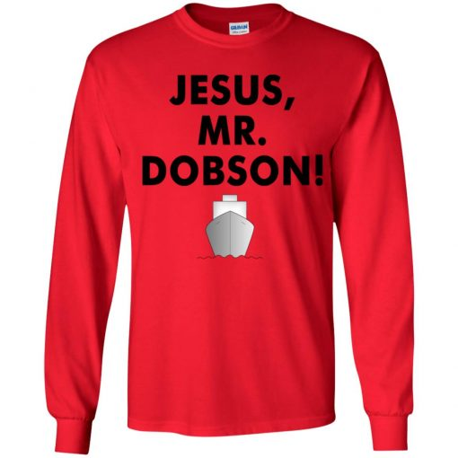 Private: Jesus, Mr. Dobson Youth LS T-Shirt