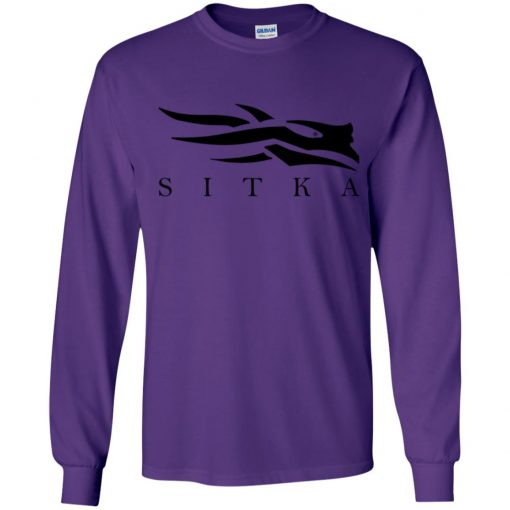 Private: Sitka Logo Youth LS T-Shirt