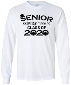 Private: Senior Skip Day Champs Class of 2020 Youth LS T-Shirt