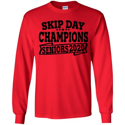 Private: Skip Day Champions 2020 Youth LS T-Shirt
