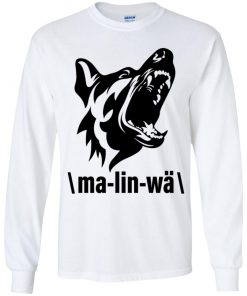 Private: Ma-lin-wa Belgian Malinois Youth LS T-Shirt