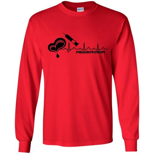 Private: Phlebotomist Youth LS T-Shirt