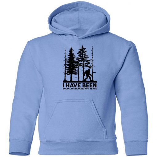 Private: I've Been Social Distancing for Years Youth Hoodie