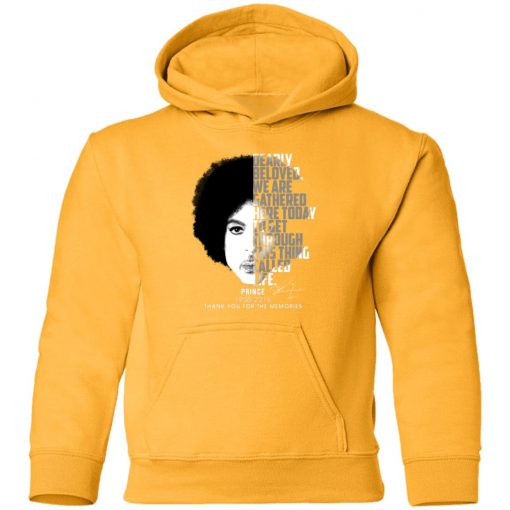 Private: Prince 1958-2016 Thank You For The Memories Youth Hoodie
