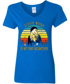 Private: Stevie Nicks is my Fairy Godmother Women's V-Neck T-Shirt