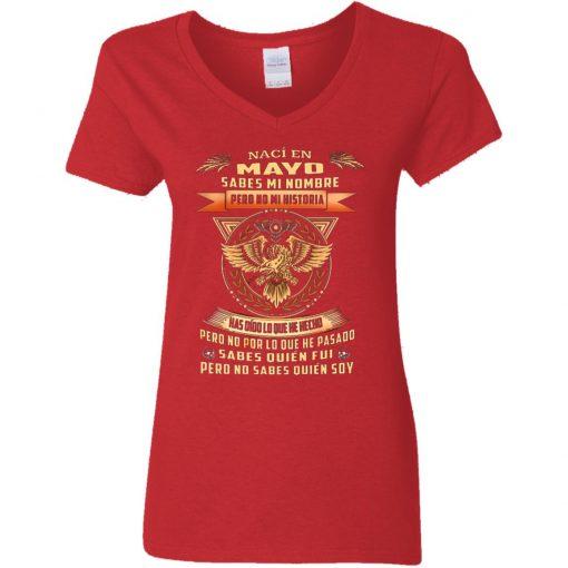 Private: Nací En Octubre Sabes Mi Nombre Pero No Mi Historia Women's V-Neck T-Shirt