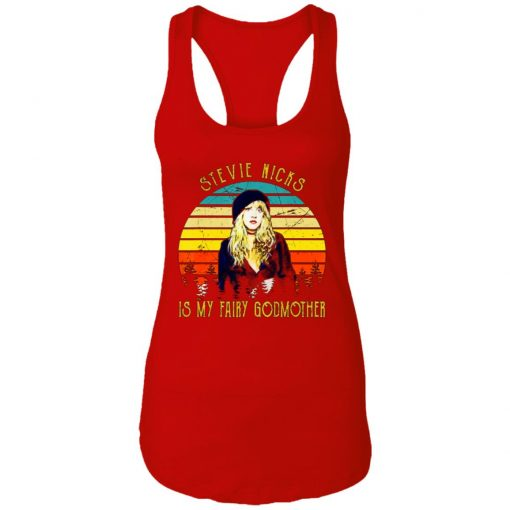Private: Stevie Nicks is my Fairy Godmother Racerback Tank
