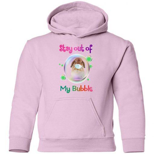 Private: Stay Out of My Bubble Youth Hoodie