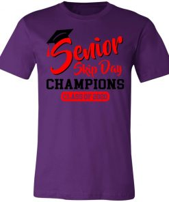 Private: Seniors 2020 Skip Day Champions 2020 Unisex Jersey Tee