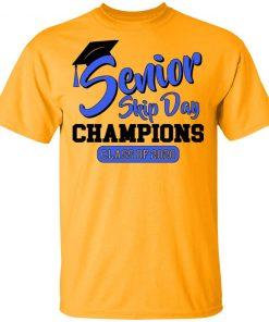 Private: Senior Skip Day Champions Funny Men's T-Shirt