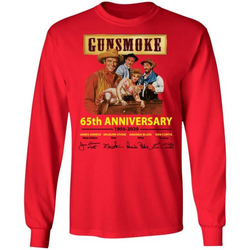 Private: Gunsmoke 65th Anniversary LS T-Shirt