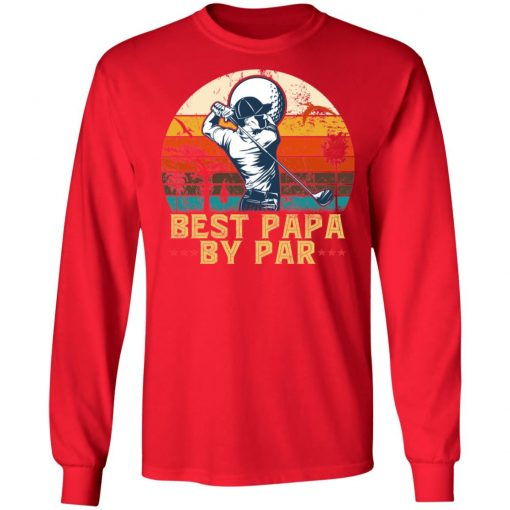 Private: Best Papa By Paw LS T-Shirt