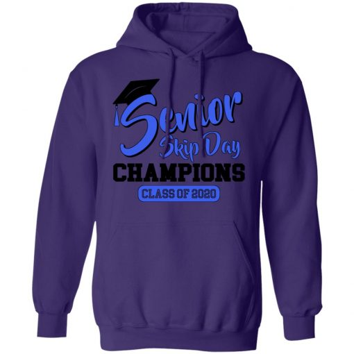 Private: Senior Skip Day Champions Funny Hoodie