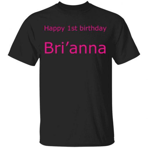 Private: Happy 1st Birthday Bri'anna Youth T-Shirt