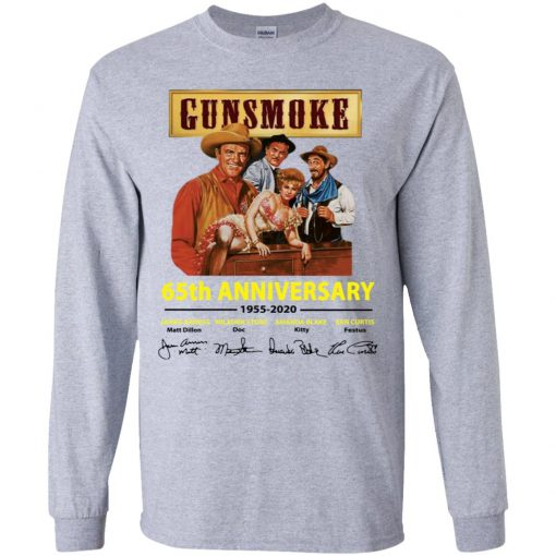 Private: Gunsmoke 65th Anniversary LS T-Shirt