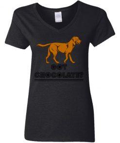 Private: Got Chocolate Women's V-Neck T-Shirt