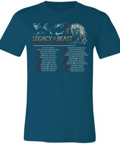 Private: Legacy of the Beast Tour Unisex Jersey Tee