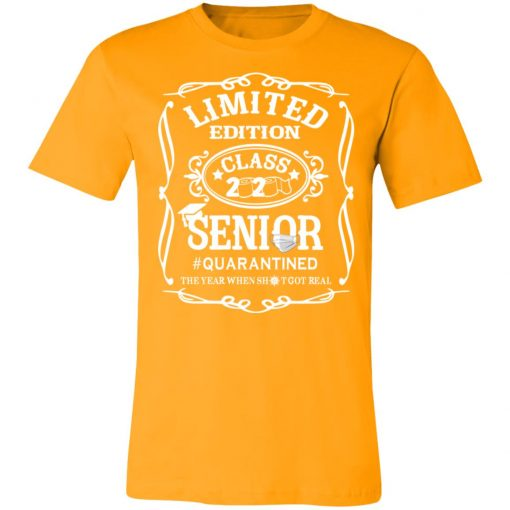 Private: Limited Edition class 2020 Senior Quarantined Unisex Jersey Tee