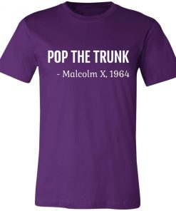 Private: Pop The Trunk Malcolm X 1964 Unisex Jersey Tee