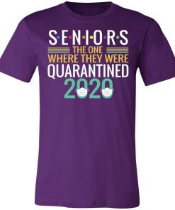 Private: Seniors The One Where They Were Quarantined 2020 Unisex Jersey Tee