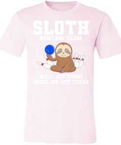 Private: Slot Bowling Team We'll Get There When We Get There Unisex Jersey Tee