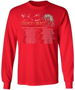 Private: Legacy of the Beast Tour LS T-Shirt