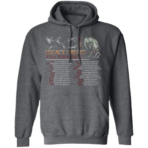 Private: Legacy of the Beast Tour Hoodie