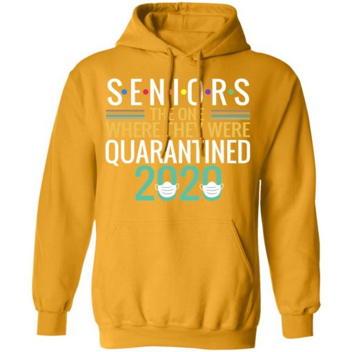 Private: Seniors The One Where They Were Quarantined 2020 Hoodie