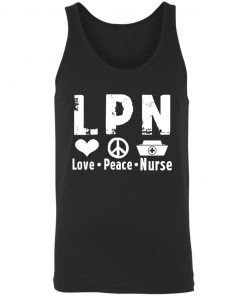 Private: Peace Love Nurse Unisex Tank