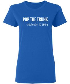 Private: Pop The Trunk Malcolm X 1964 Women's T-Shirt
