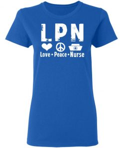Private: Peace Love Nurse Women's T-Shirt