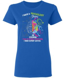 Private: I Have A Psychology Degree Women's T-Shirt