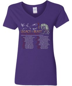 Private: Legacy of the Beast Tour Women's V-Neck T-Shirt