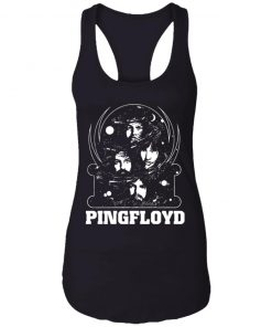 Private: PINK FLOYD Pyramid Band Racerback Tank