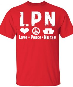 Private: Peace Love Nurse Youth T-Shirt